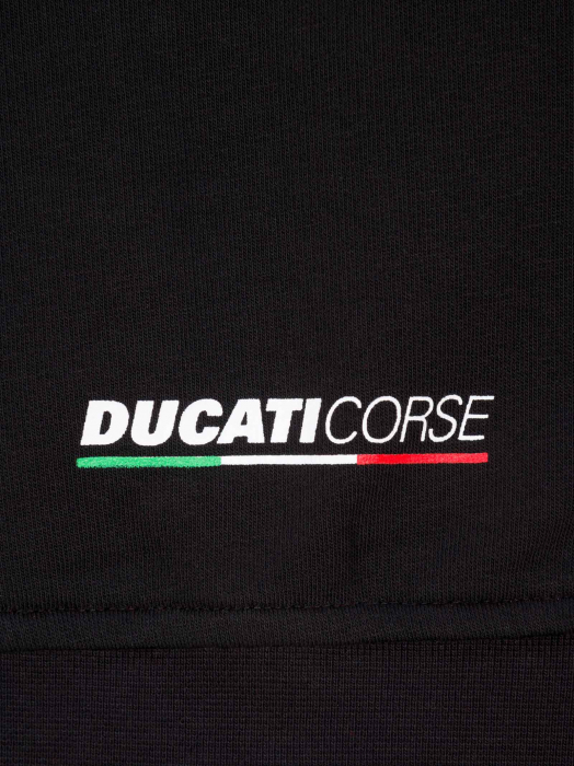 Kid Zipped Sweatshirt Ducati Corse