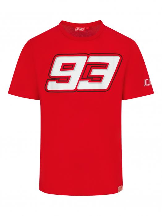 T-shirt Marc Marquez - Big 93 Red