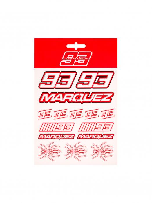 Autocollants Marc Marquez - Red Edition