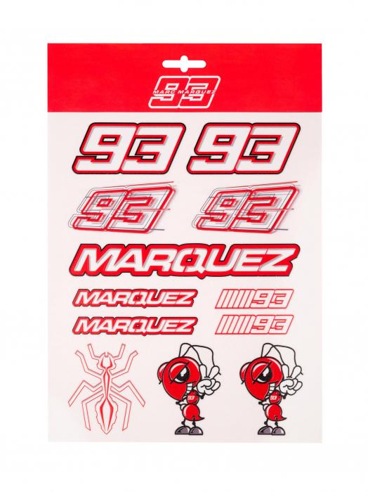 Grands autocollants Marc Marquez - Red Edition