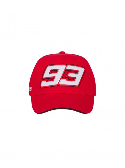Casquette Marc Marquez 93 officielle