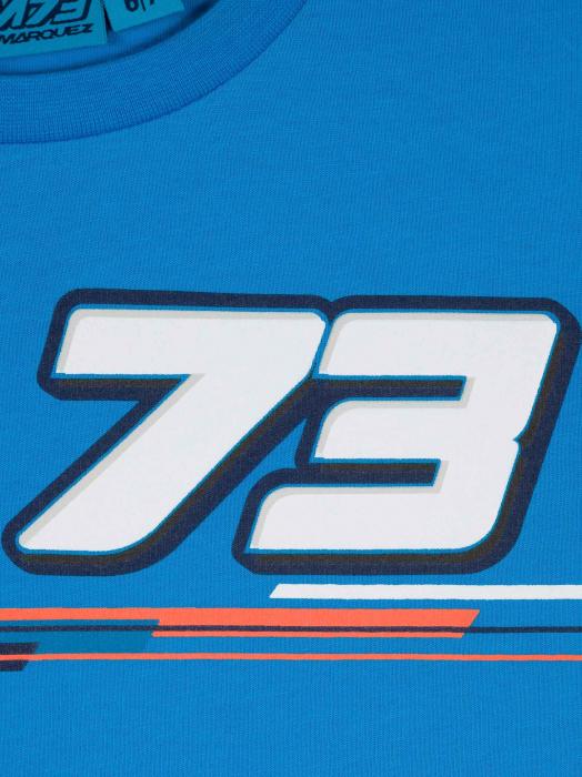 T-shirt da bambino Alex Marquez - 73