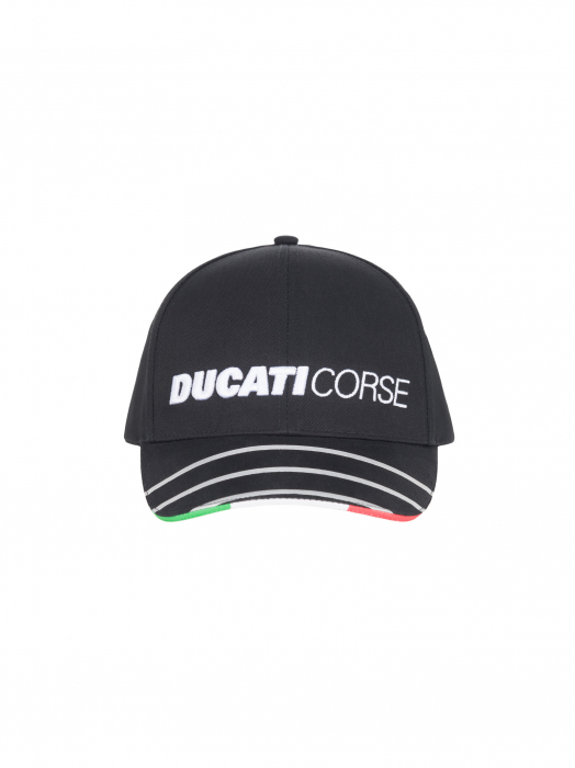 Cap Ducati Strings Flag Italy