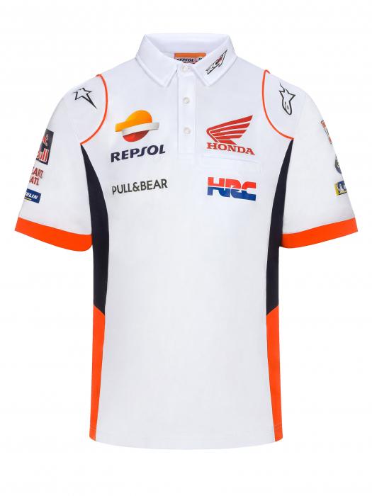 Polo White Repsol Honda Official Teamwear Replica 2020