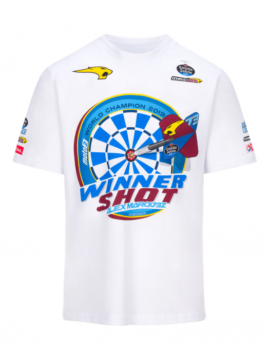 T-shirt Alex Marquez Wolrld Champion 2019