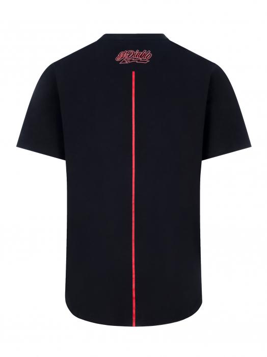 T-shirt Long Fabio Quartararo 20 - Red Stripe