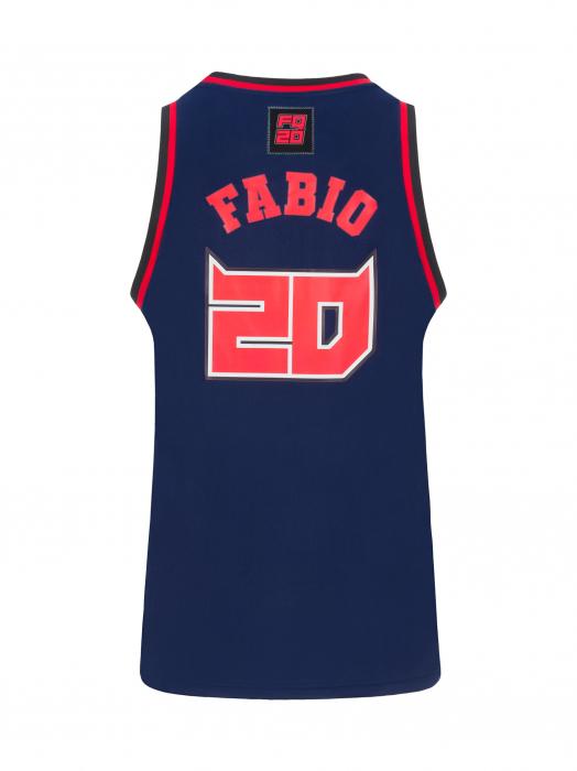 Débardeur de basket Fabio Quartararo - 20