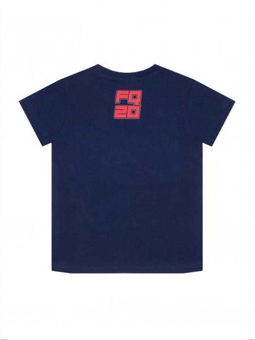 T-shirt enfant Fabio Quartararo - Blue