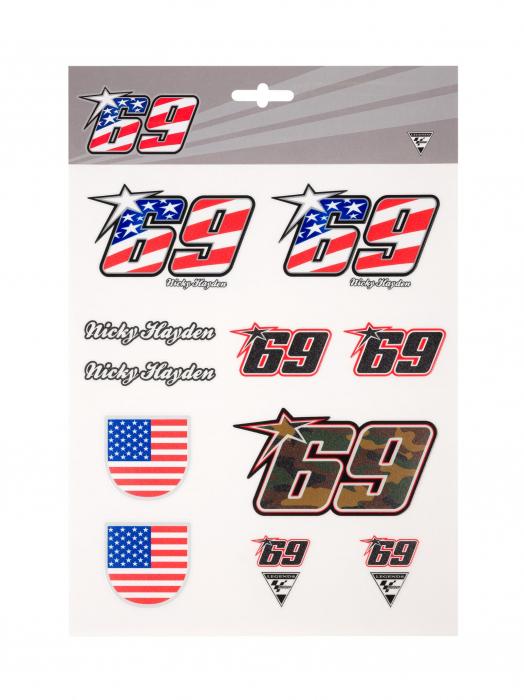 Stickers - Nicky Hayden 69