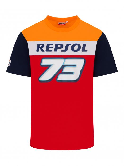 Dual Repsol Honda T-shirt - Alex Marquez 73