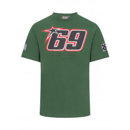 18 34007 Official Nicky Hayden 69 White T-Shirt