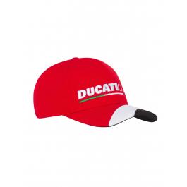 Ducati Corse Moto GP Racing Flat Peak Casquette Rouge Officiel 2018