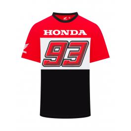17 33002 Official Marc Marquez 93 Black T/'Shirt
