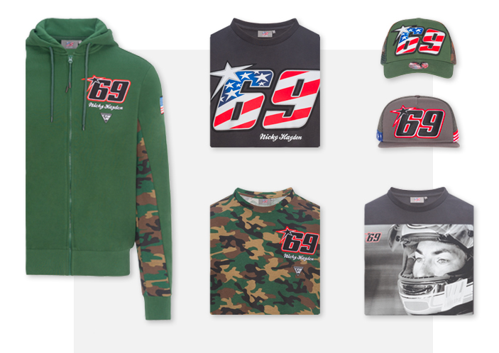 e2586501c Nicky Hayden store: official clothing, accessories, merchandise ok ...