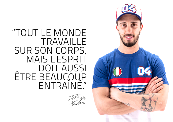 Andrea Dovizioso - Nouvelle collection 2020